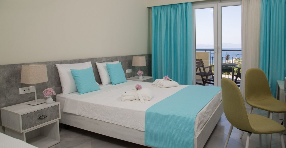 Sunrise Resort double room with sea view