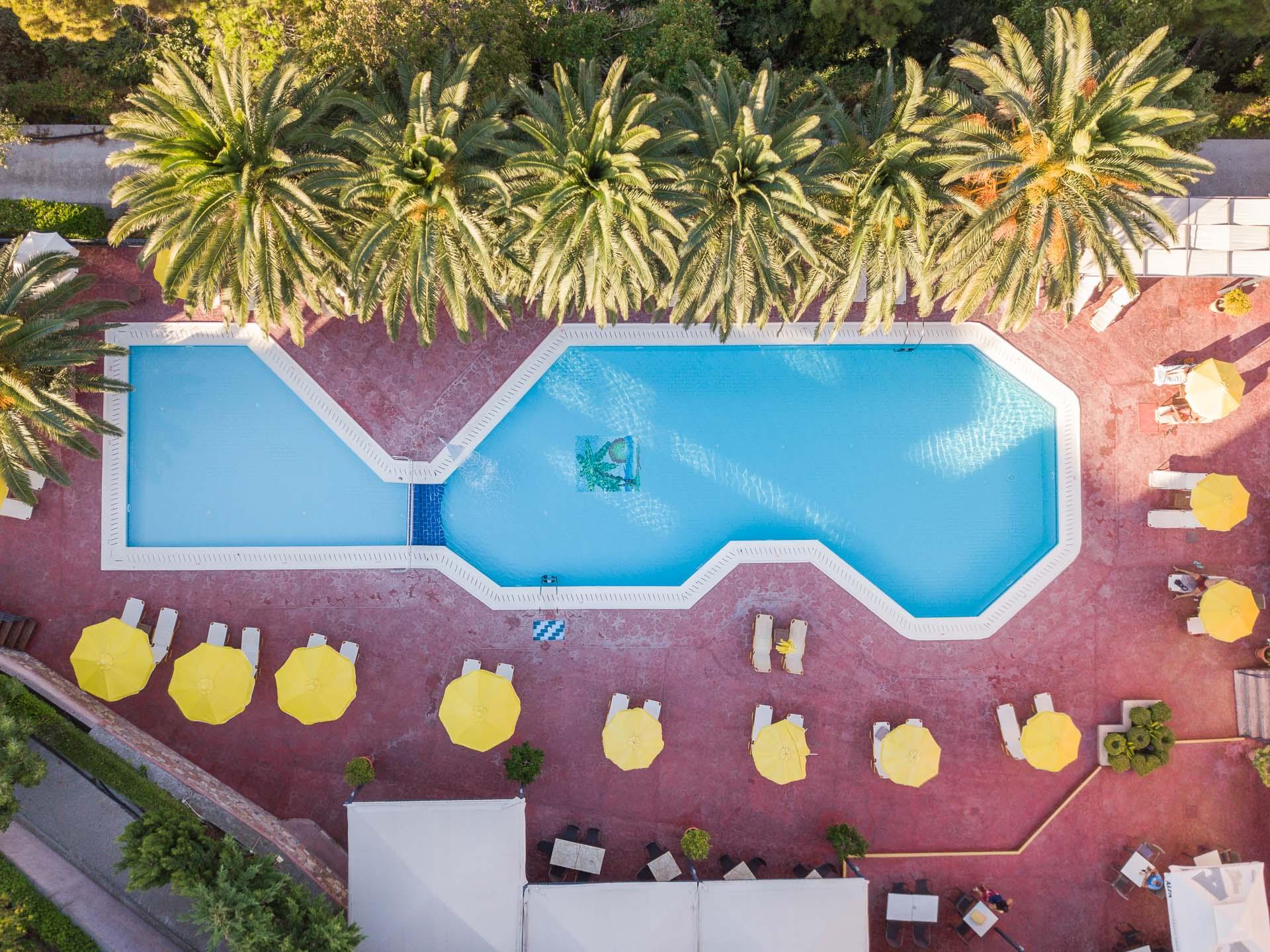 Sunrise Resort aerial shot